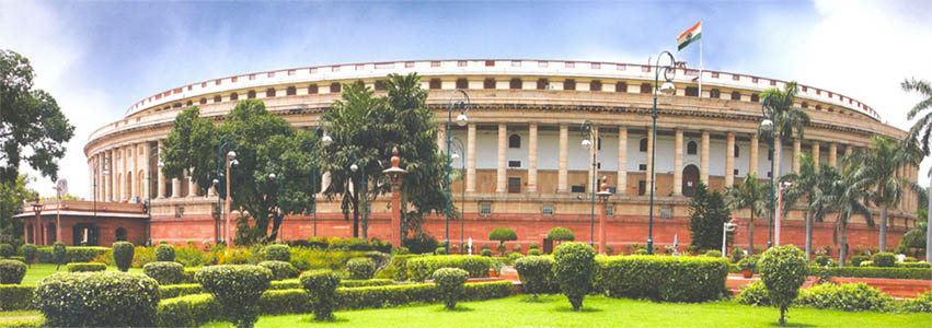 [Indian Parliament]